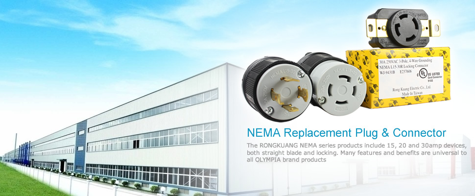 NEMA Replacement Plug & Connector